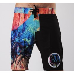 SHORT DE BAIN PITCHA PAINTY BOARDSHORT FULLPRINT